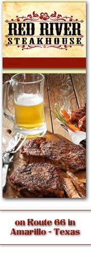 Red River Steakhouse banner ad