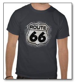 Route 66 baseball hat
